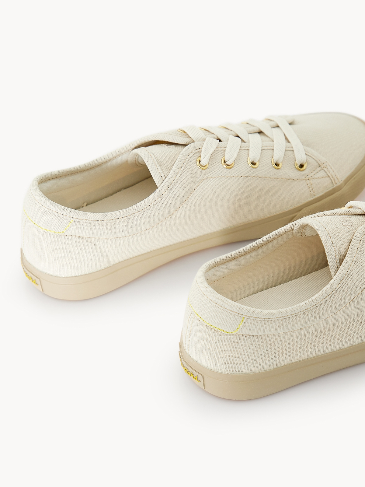 Alexis Lace Up Sneakers Sand