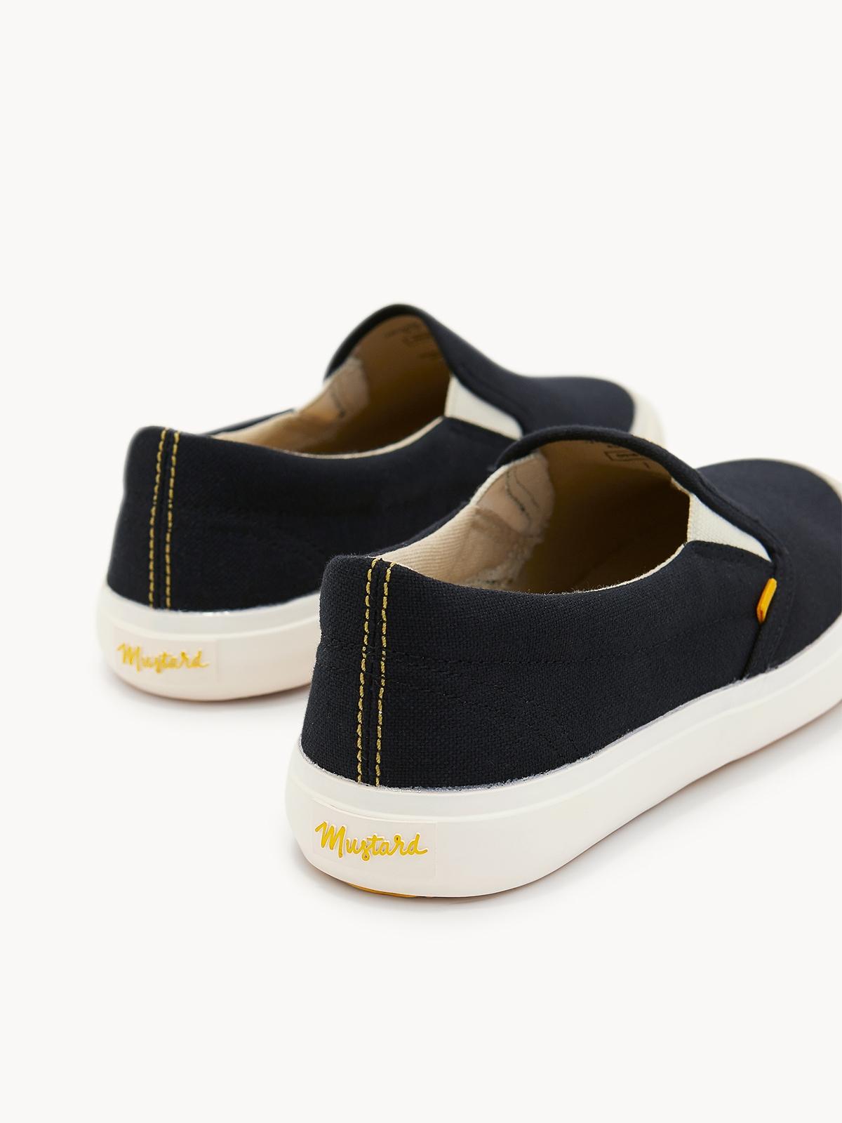 Slip On Sneakers Black