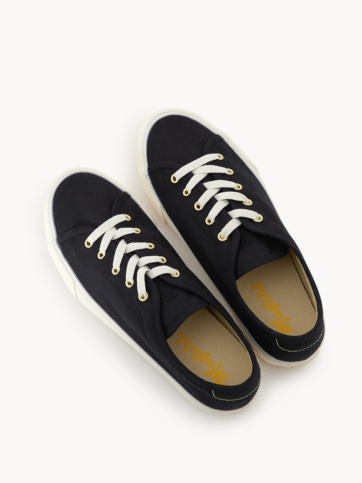 Alexis Lace Up Sneakers Black