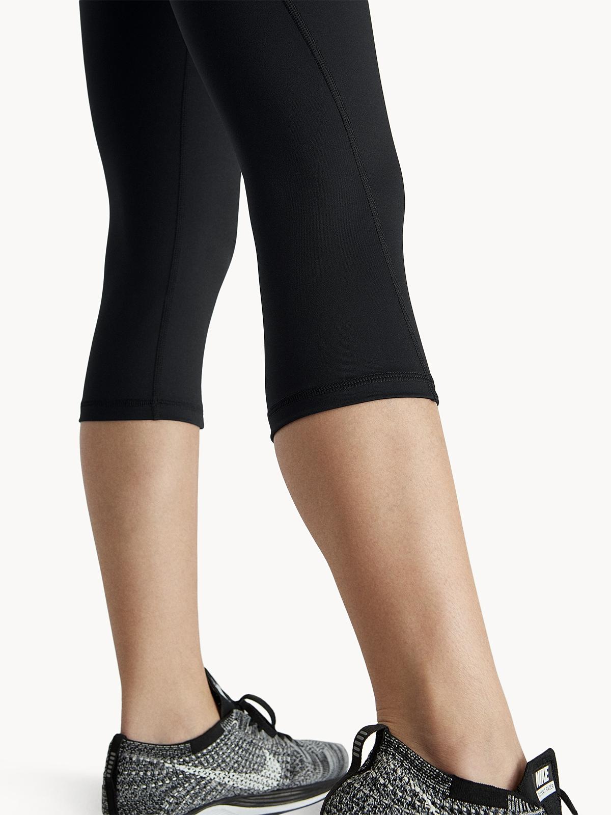 Combat Knee Length Leggings Black