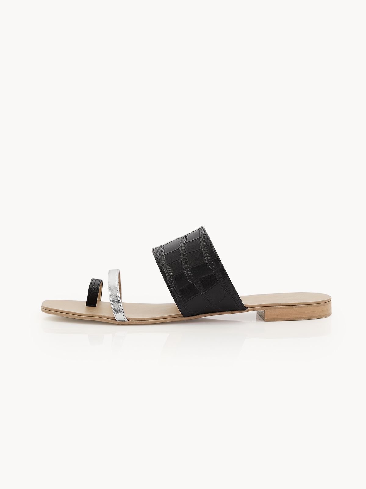 Prove Toe Ring Sandals Black