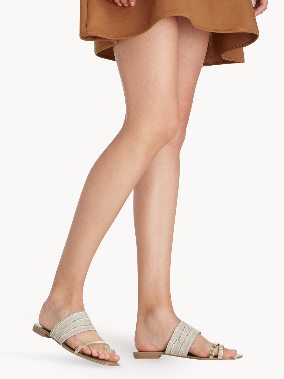 Prove Toe Ring Sandals Beige