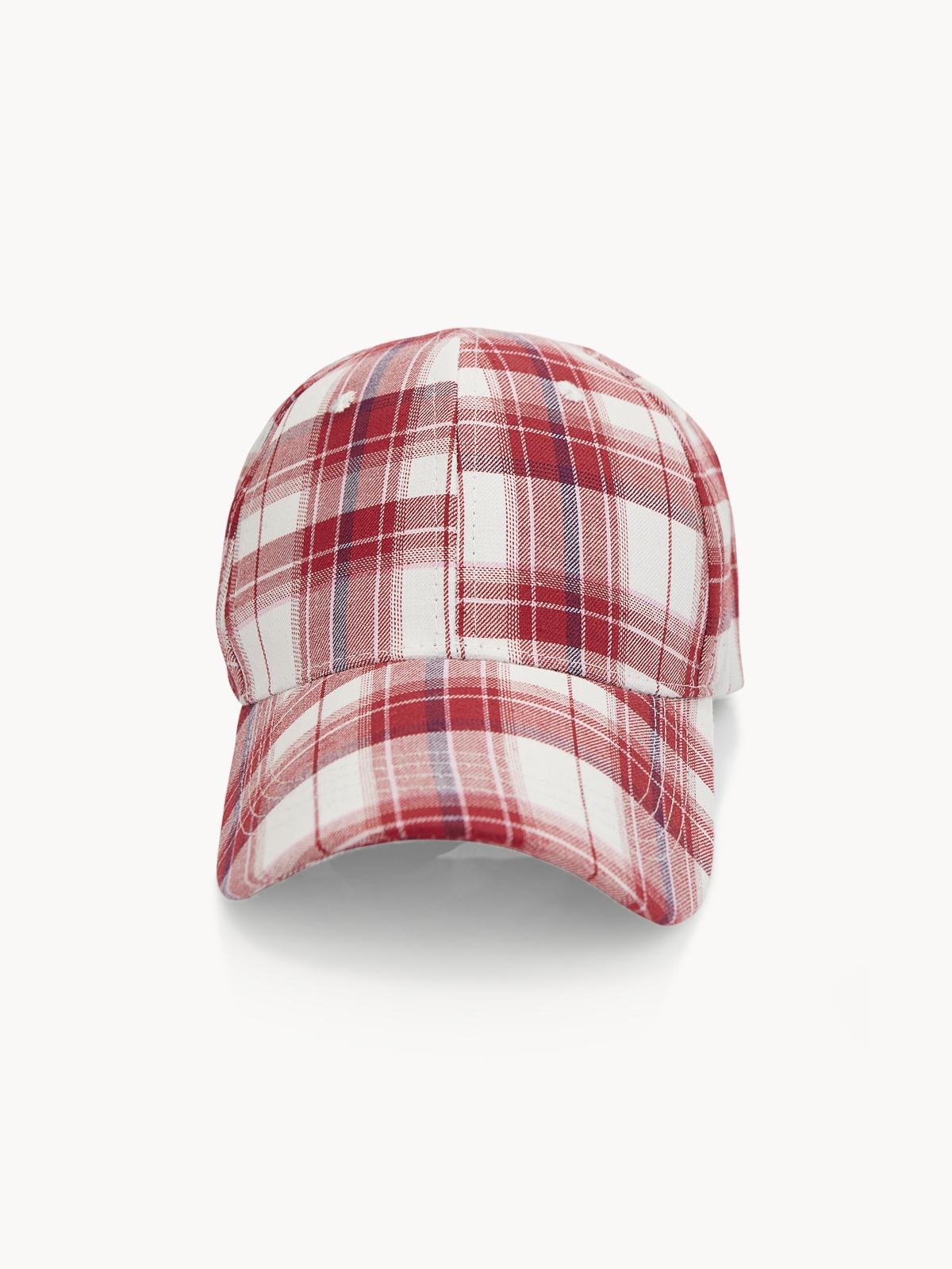 Tartan Cap Red