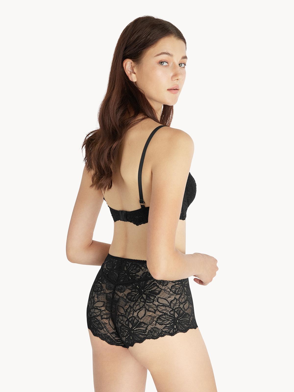 SYP Emma Culotte Panties Black