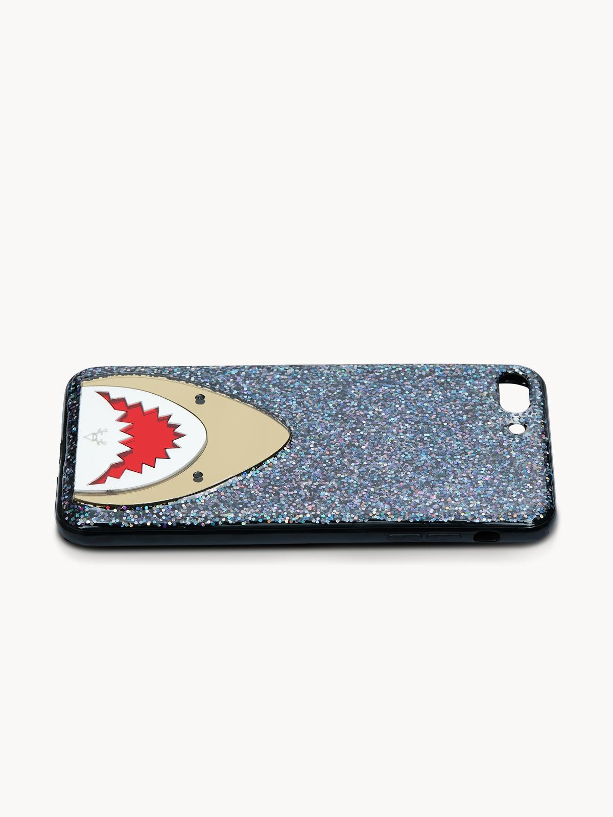Reindeer Shark iPhone 7Plus8Plus Case Black