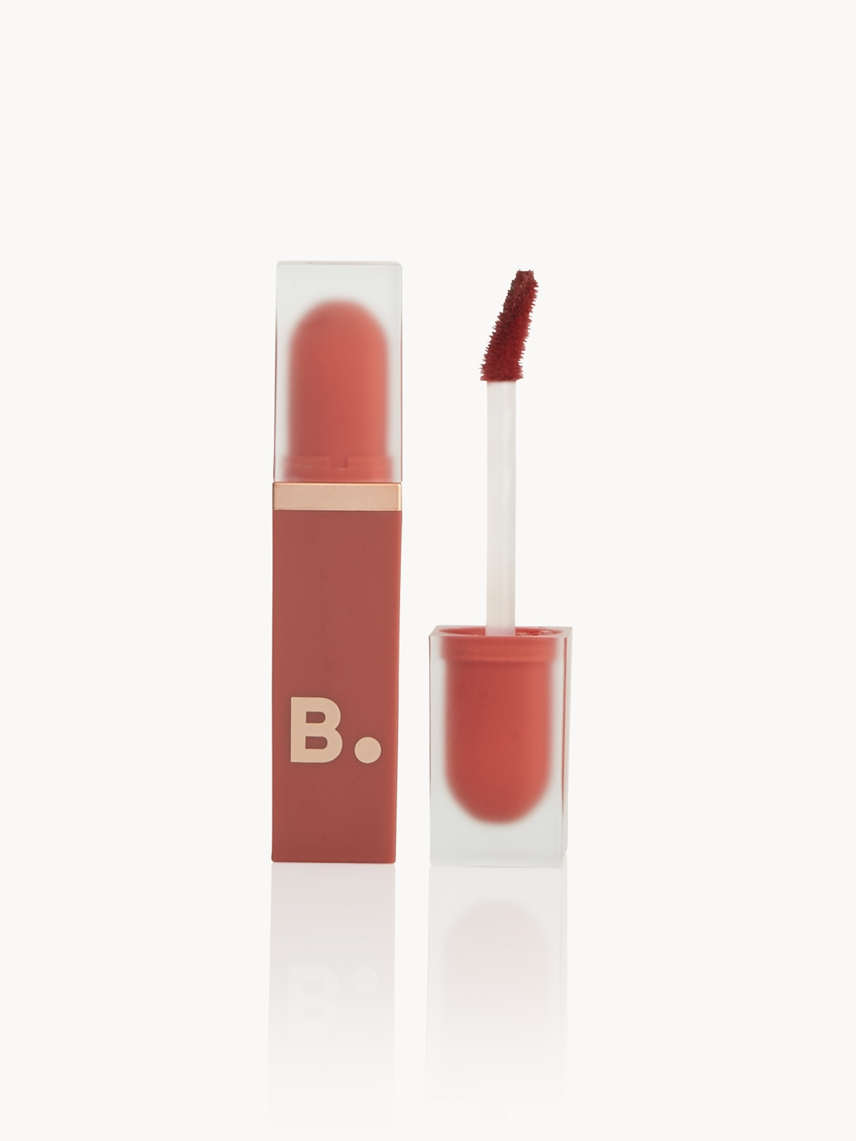 B by BANILA Velvet Blurred Lip Brick Chili Filter