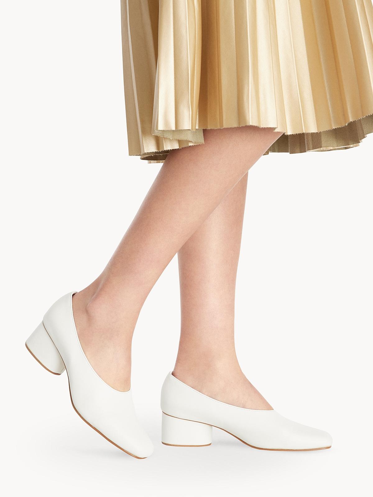 Tuntiya Object Tia Block Heels White