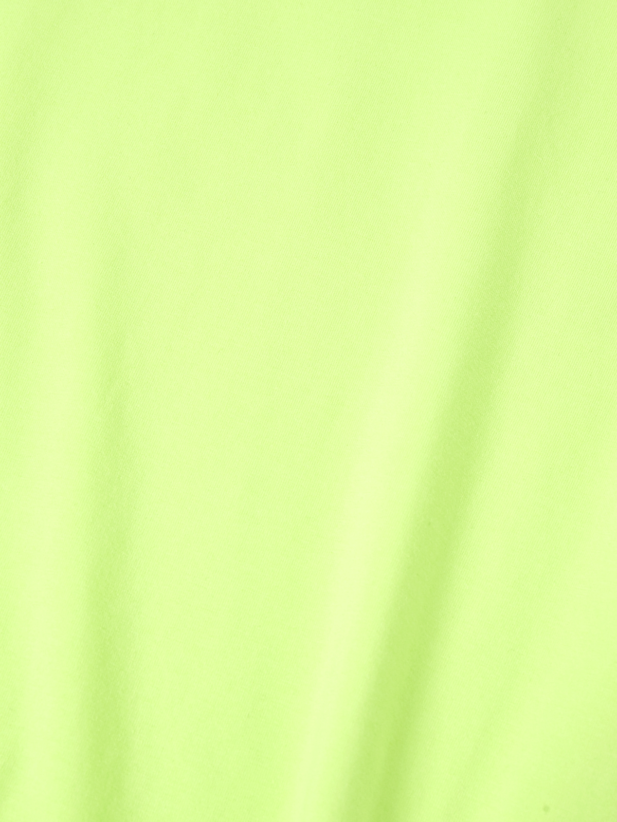 Crew Neck Basic Top Green