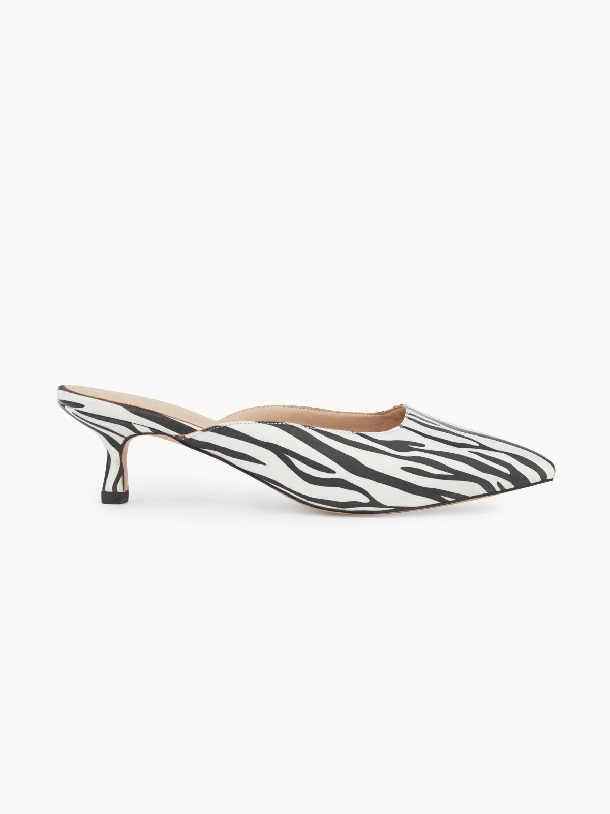 Pomelo x DARLIN Zebra Cross Mules