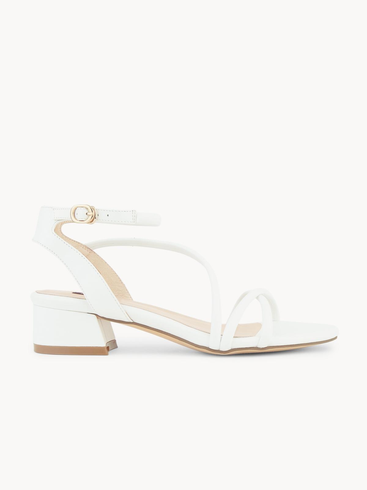 Mave Claire Strappy Sandals White