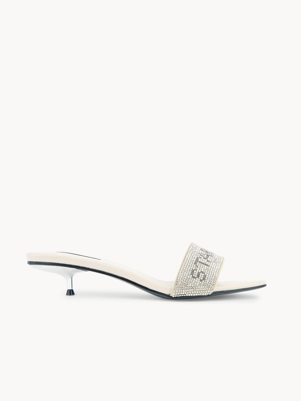 Starkela Flashy Sandal Heels Beige