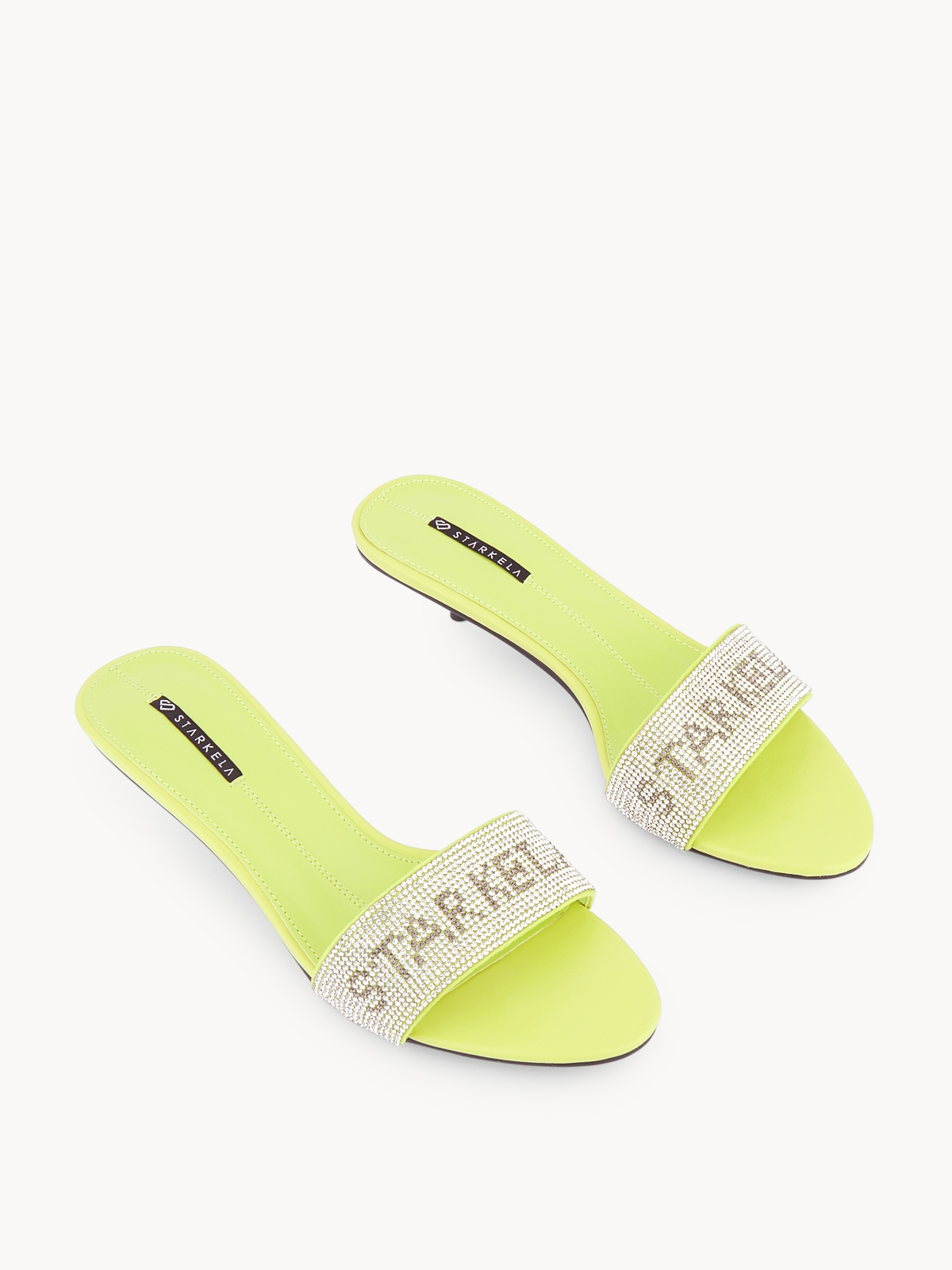 Starkela Flashy Sandal Heels Green