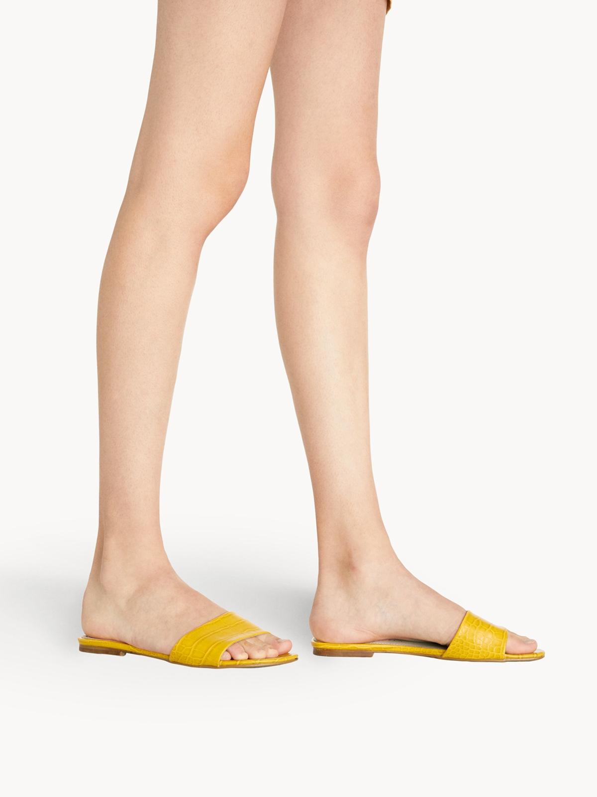 Starkela Flat Sandals Yellow