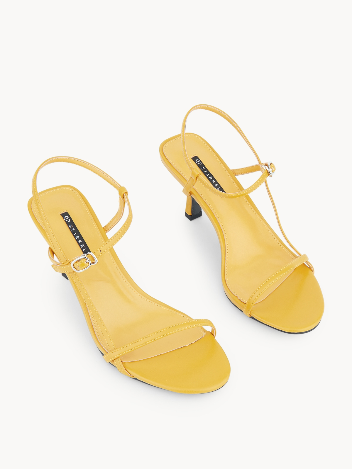 Starkela Thin Line Heels Yellow