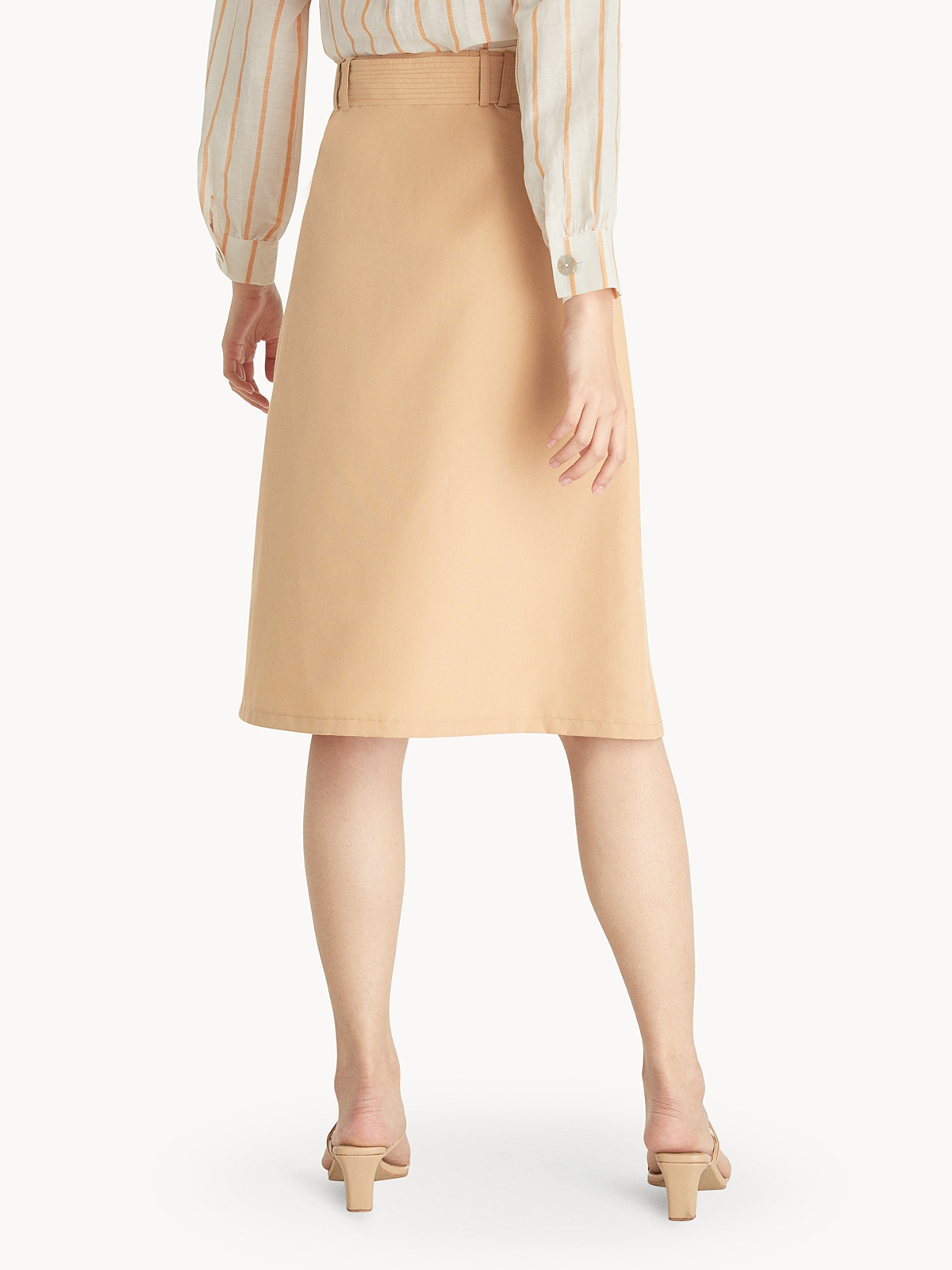 Purpose Tie Waist Skirt Sunset