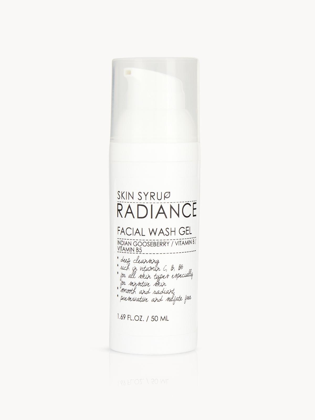 Skin Syrup Radiance Facial Wash Gel