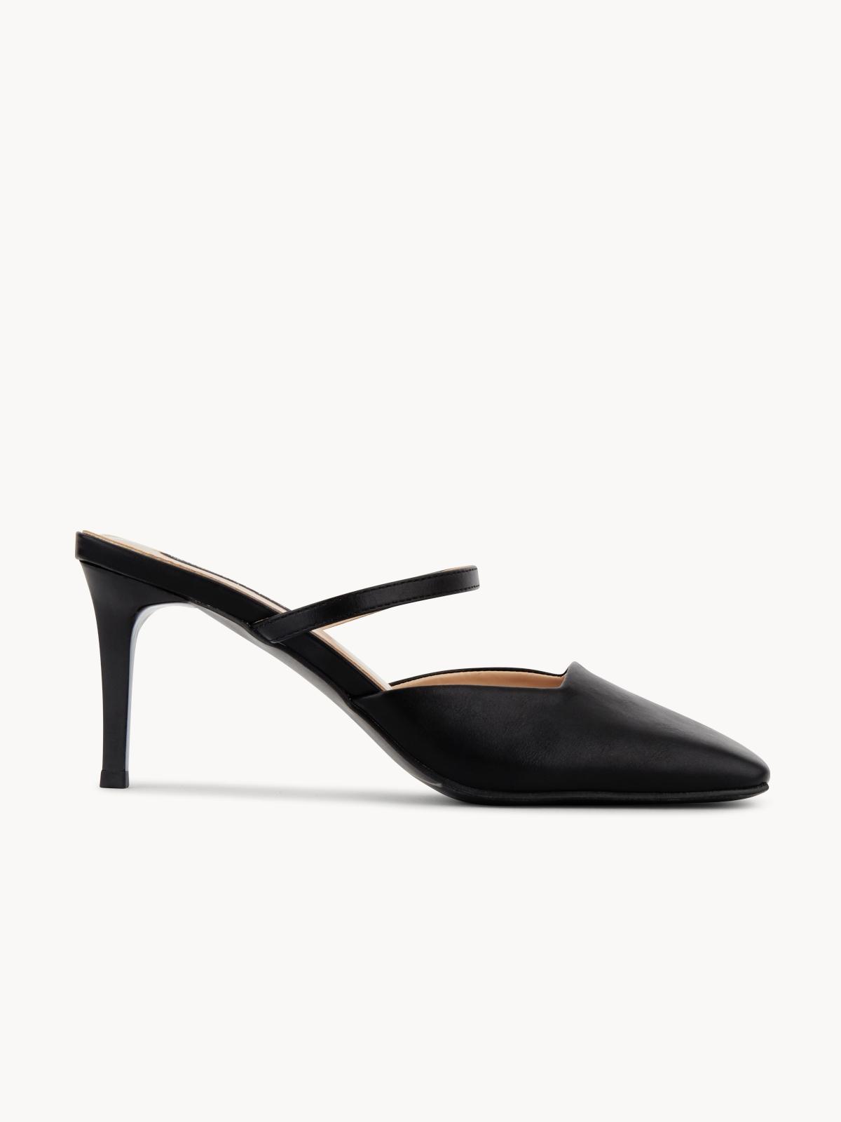 Starkela Square Cutted Heels Black