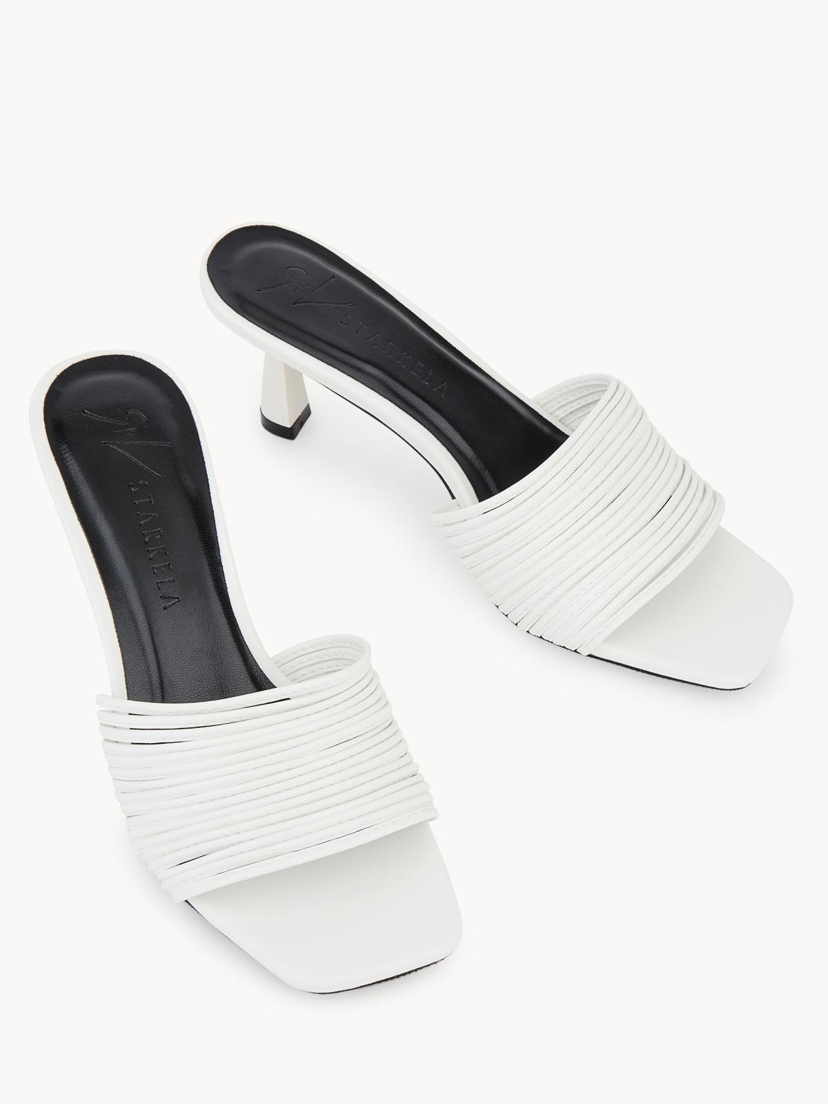 Starkela Strapzie Heels White