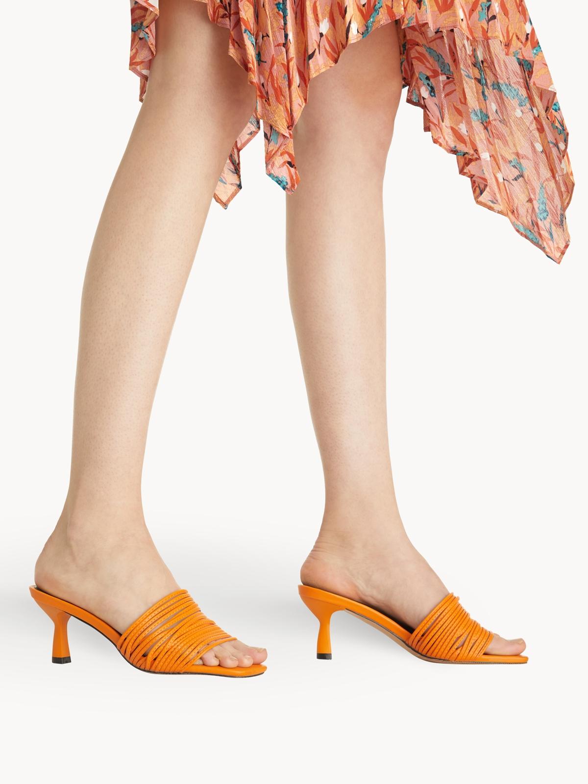 Starkela Strapzie Heels Orange