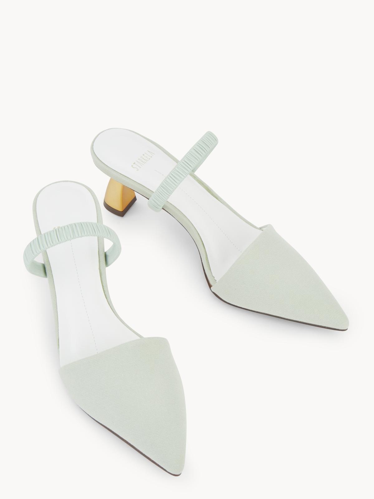 Starkela Golden Heels Green