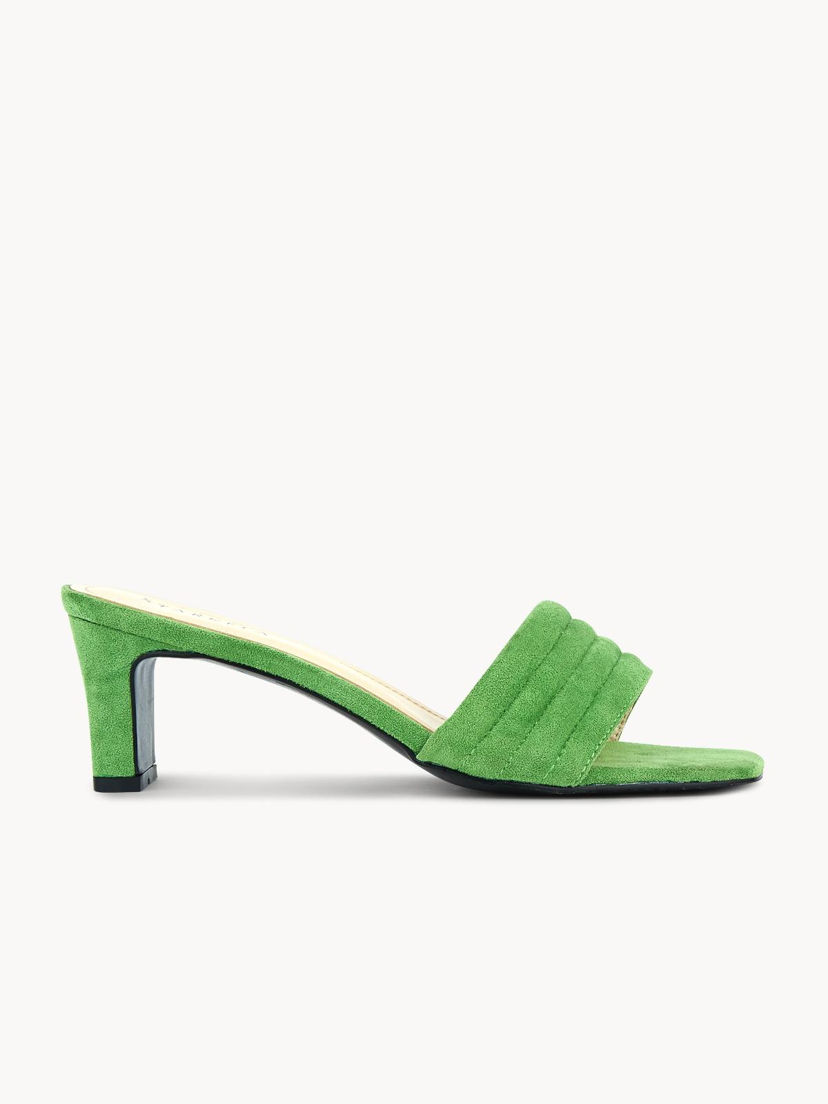 Starkela Sandal Mid Heels Green