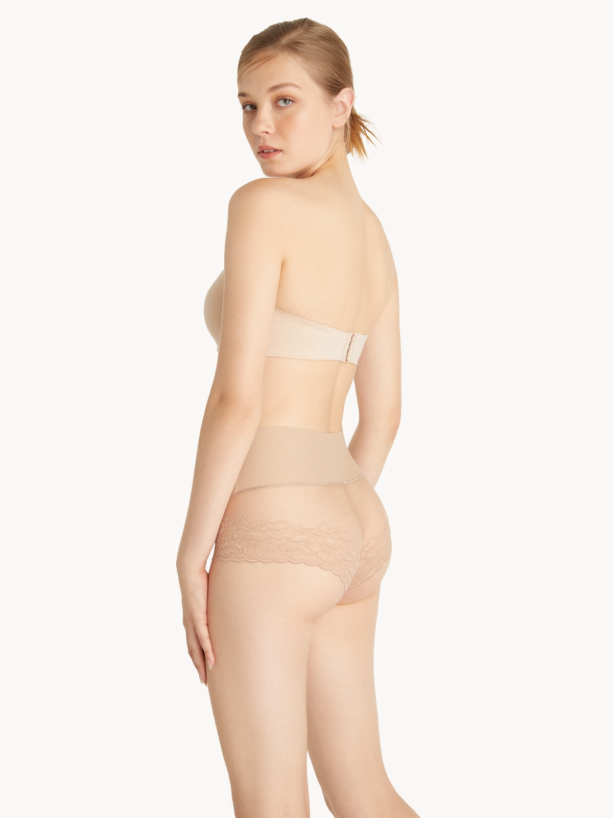 Up and Under TGIF Lace Panty Nude