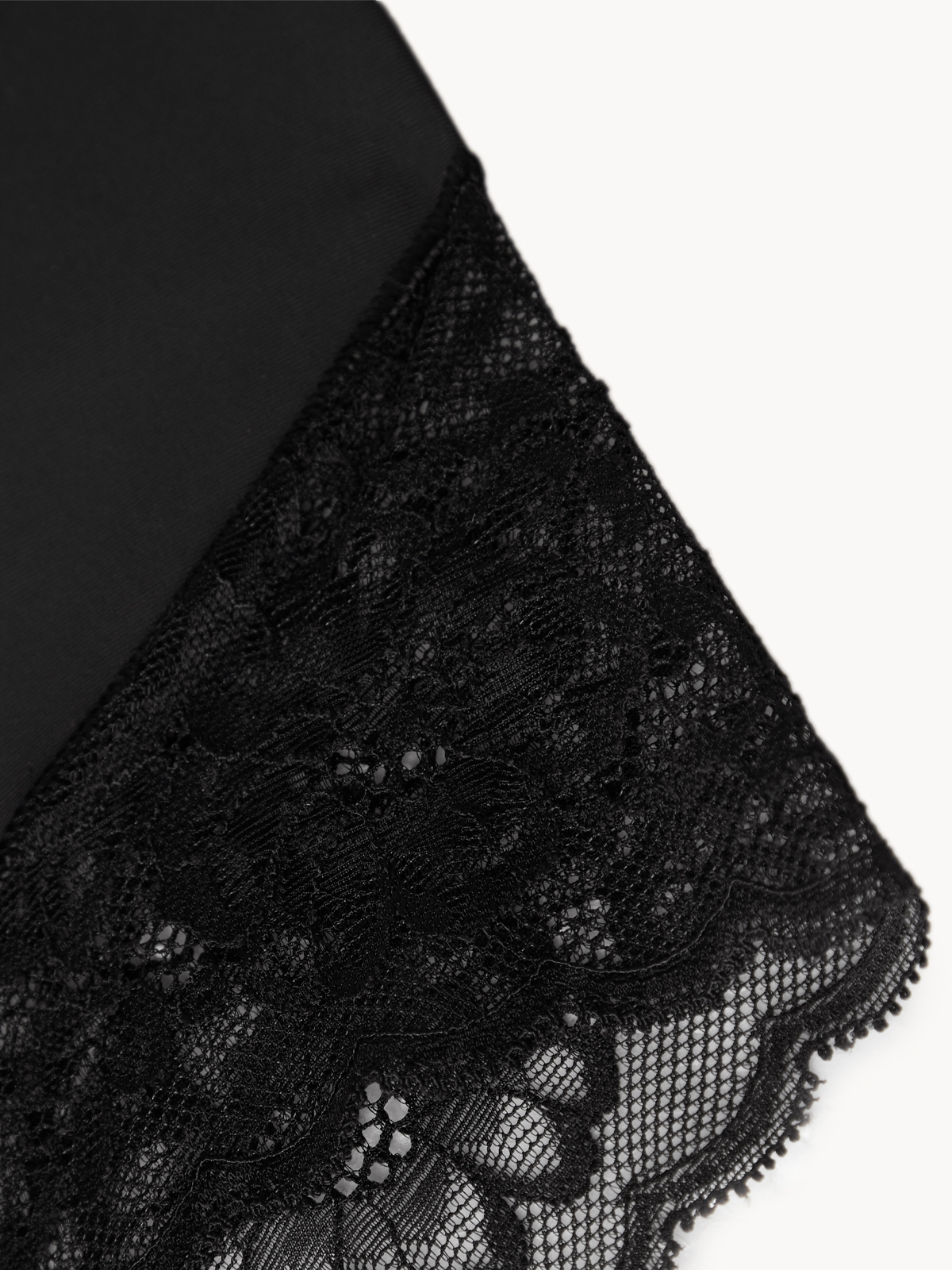 Up and Under TGIF Lace Panty Black
