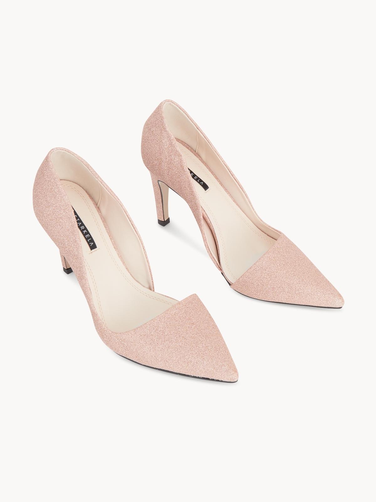 Starkela Pointed High Heels Pink
