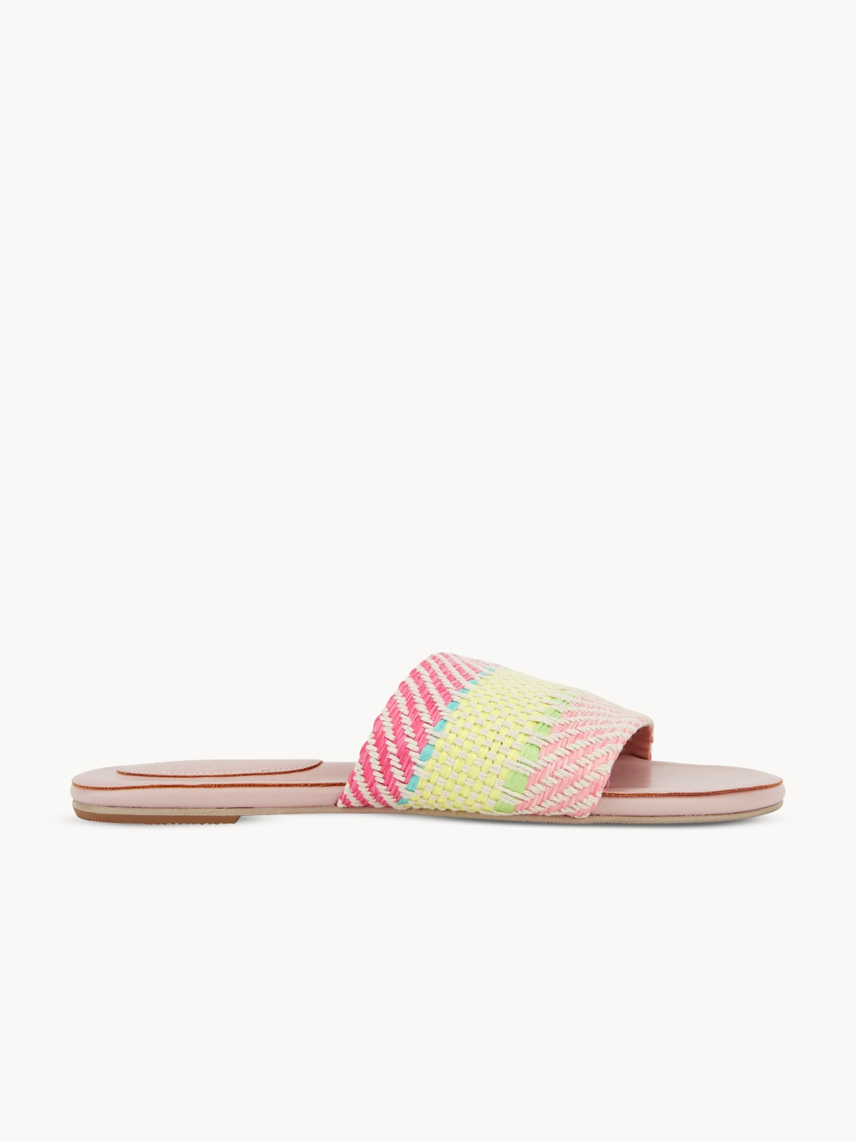 Mosstories Weave Sandals Pink