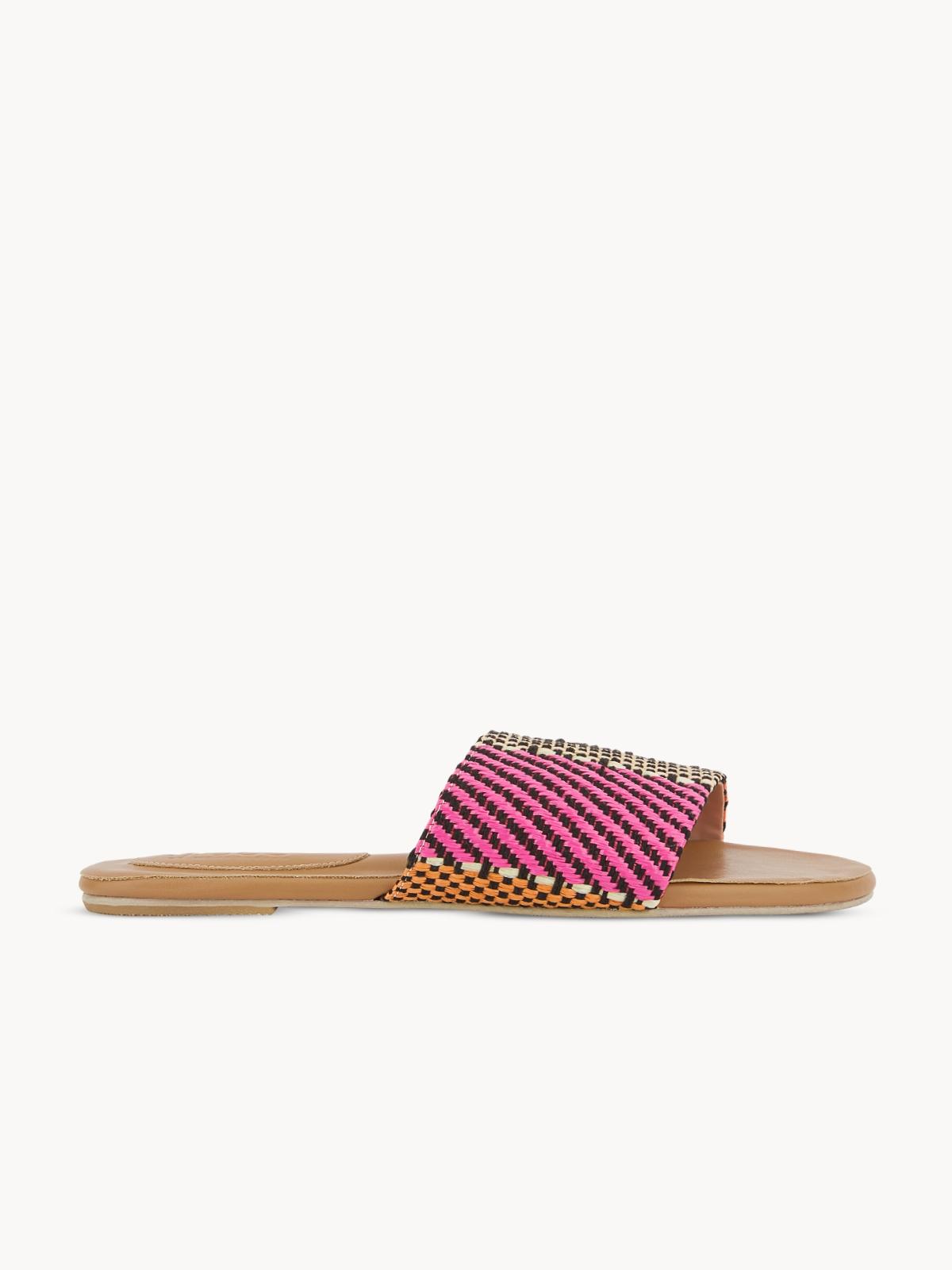Mosstories Weave Sandals Brown