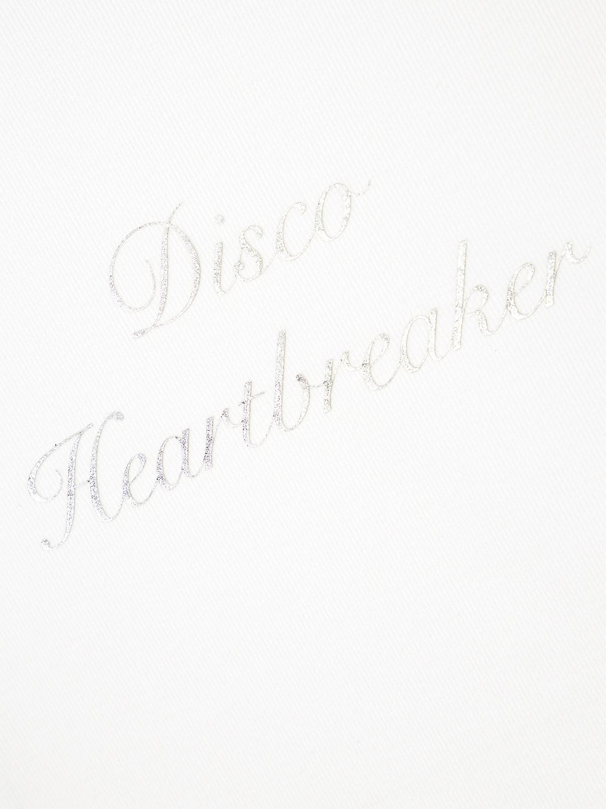 Disco Heartbreaker Tee White