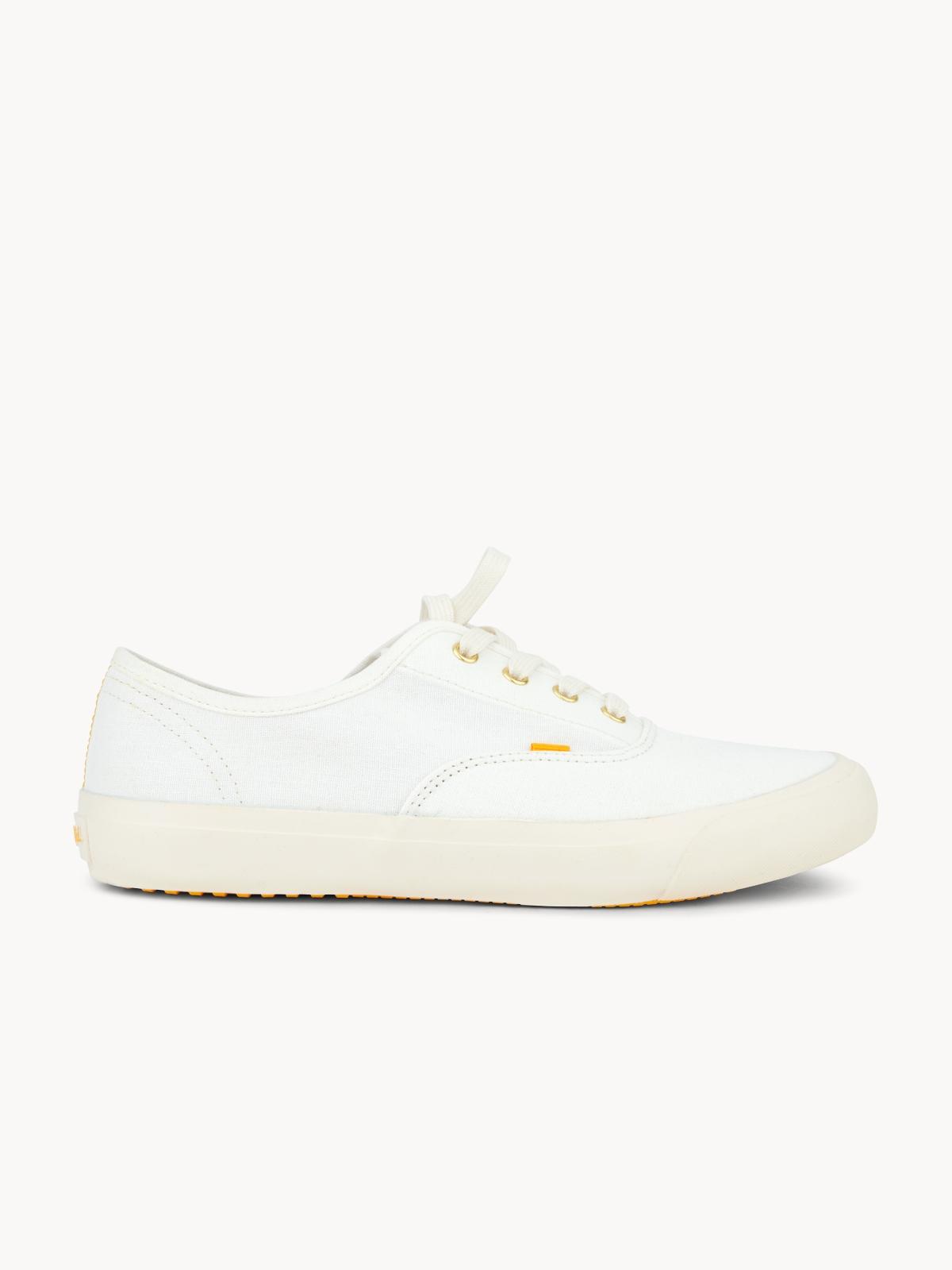 Mustard Cooper Sneakers White