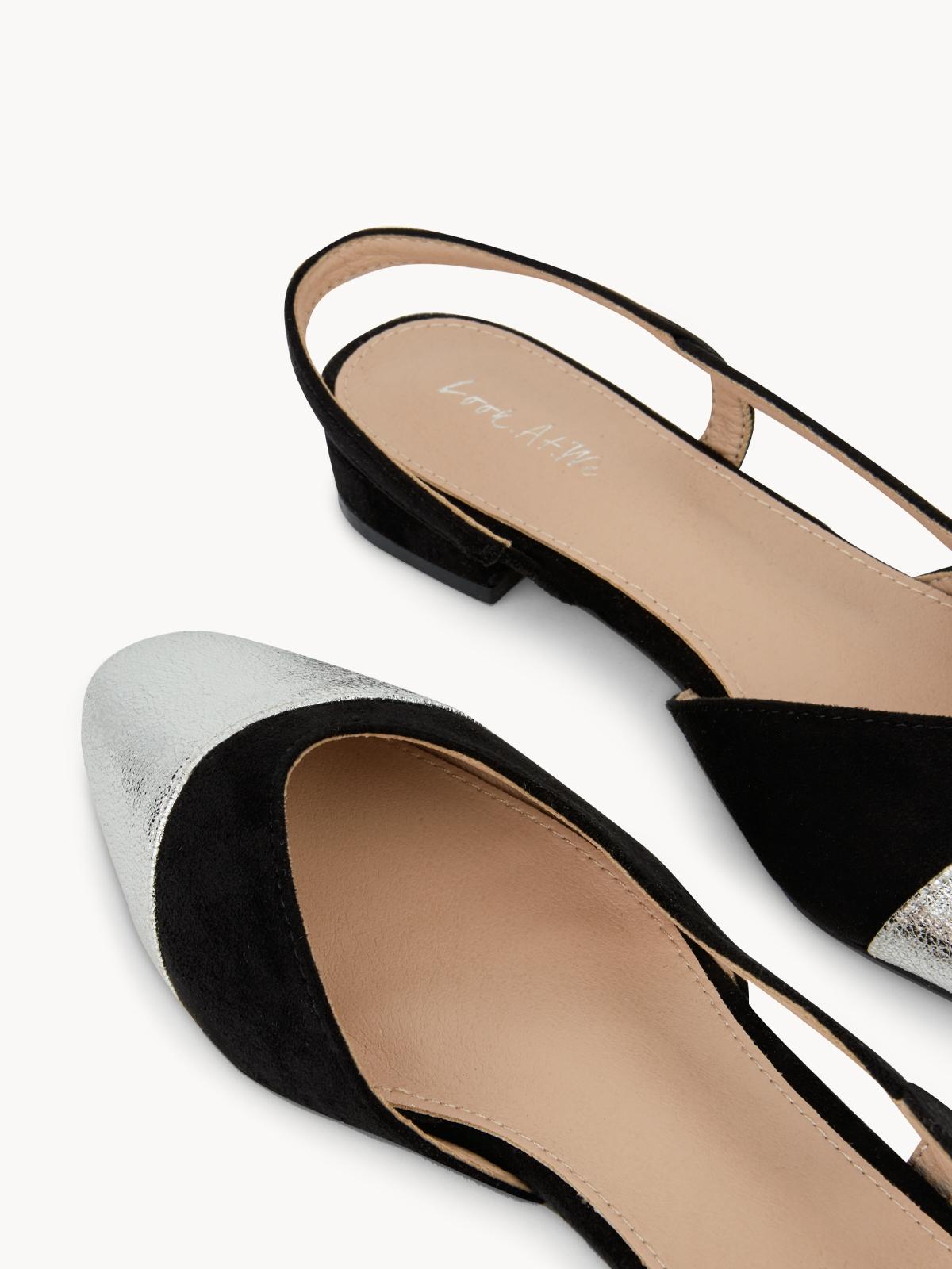 LootAtWe Classic Flats Black