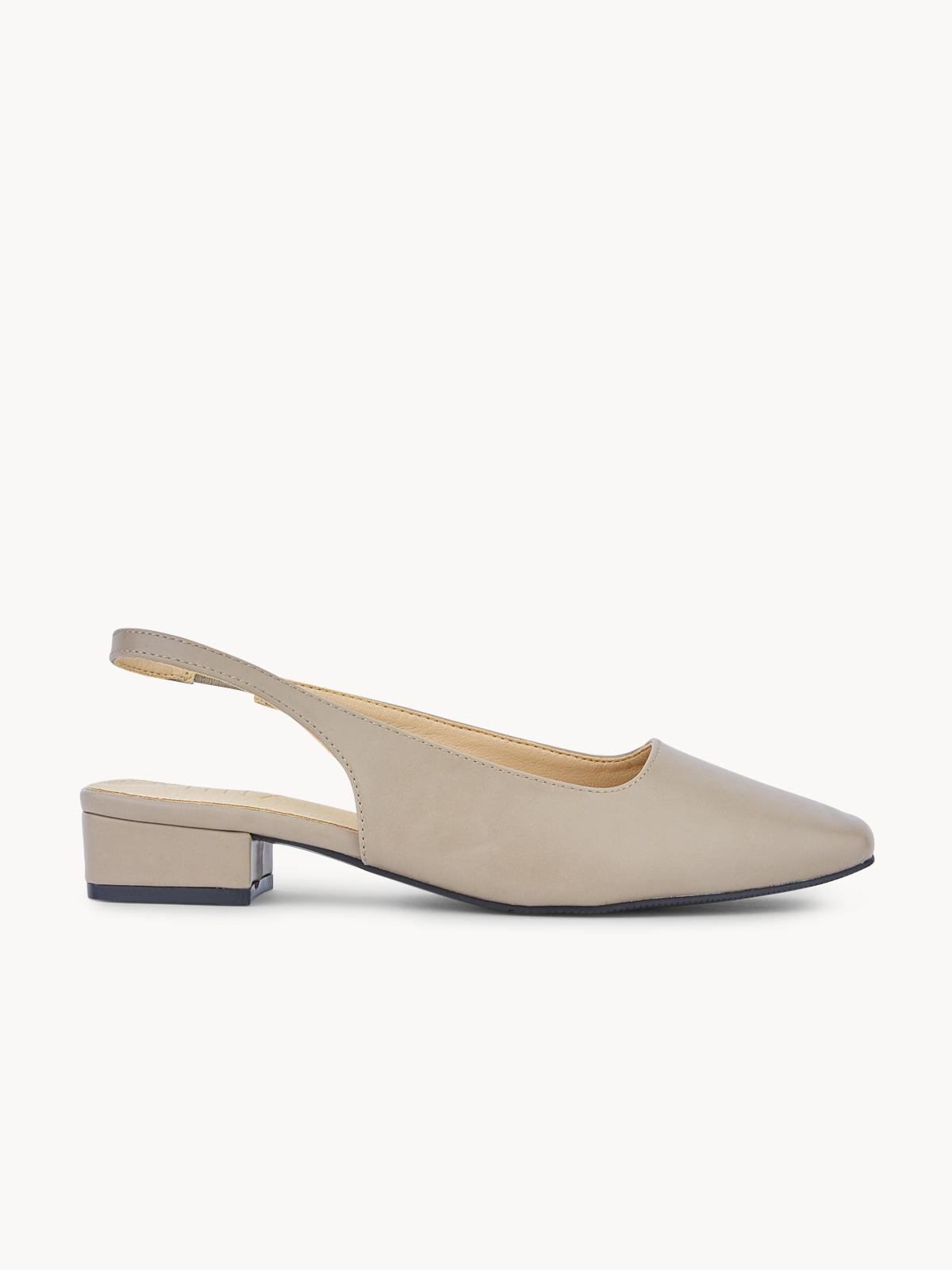 Minx Alice Slingback Sandals Taupe