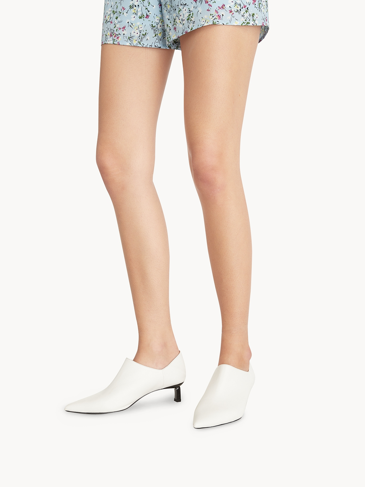 Starkela Low Ankle Boots White