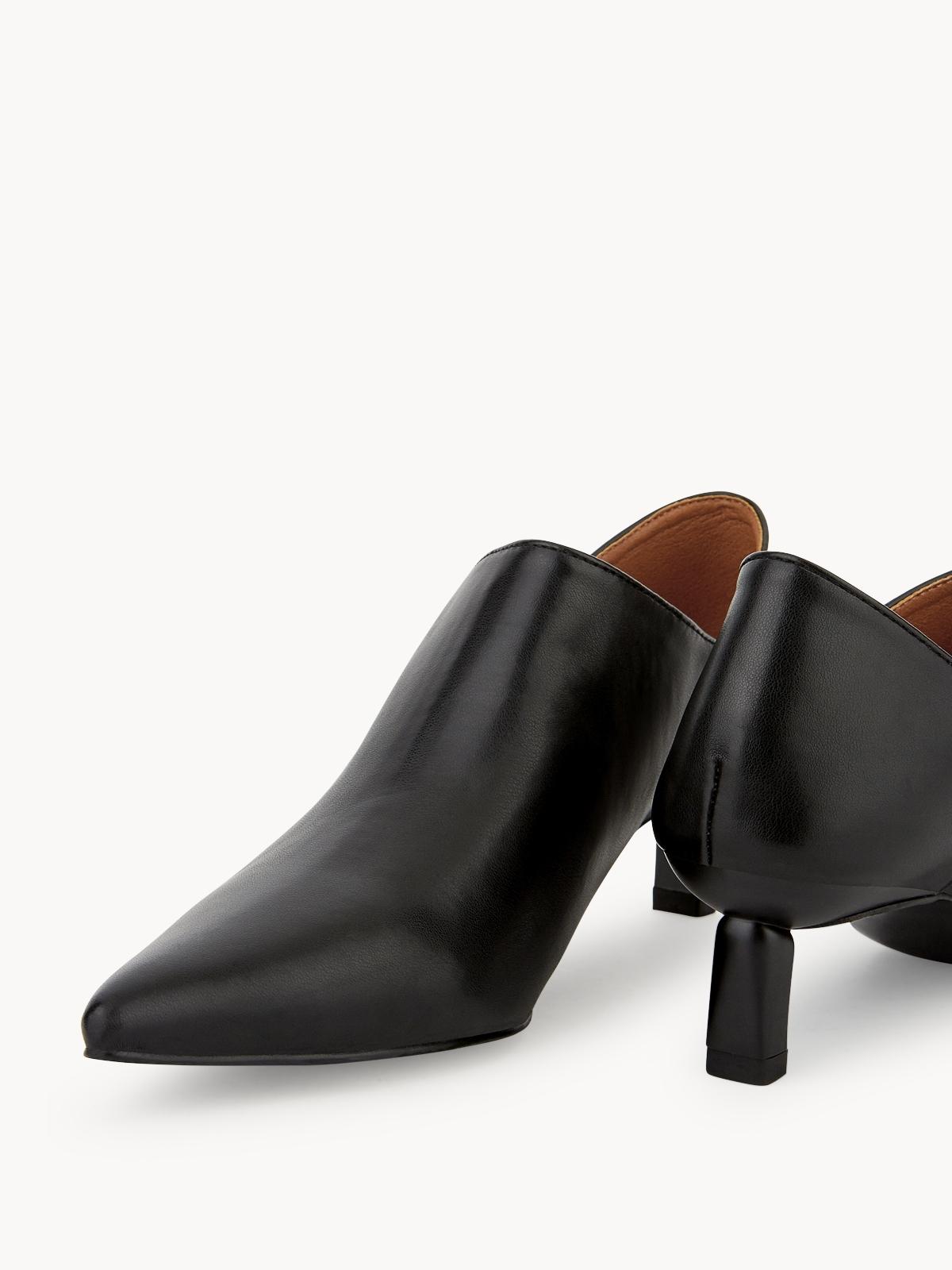 Starkela Low Ankle Boots Black