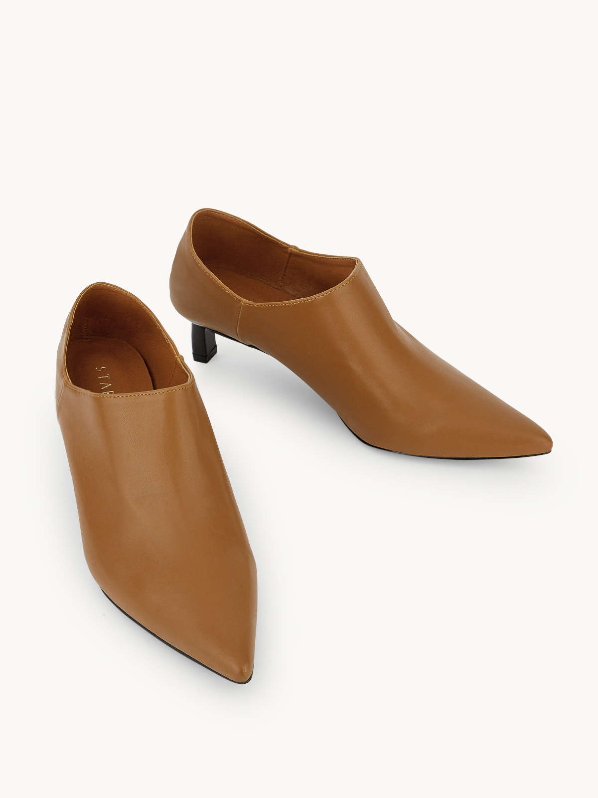 Starkela Low Ankle Boots Brown