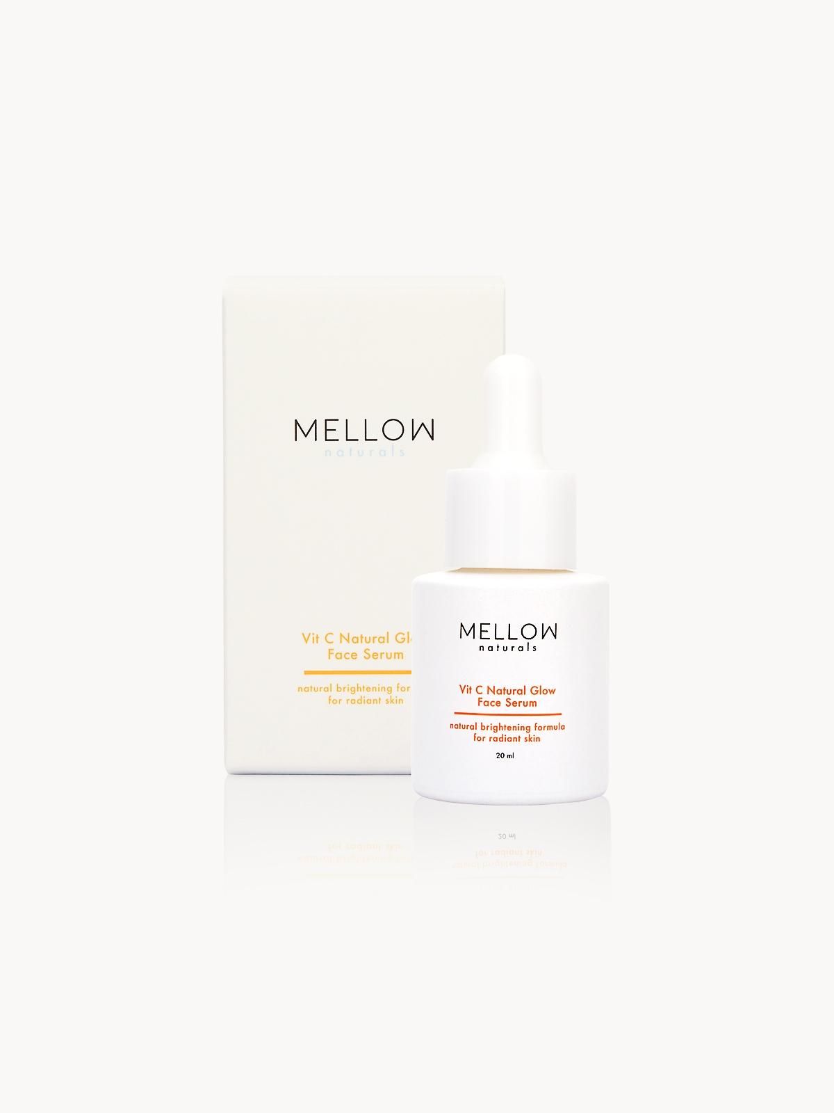 MELLOW Naturals Vit C Natural Glow Face Serum