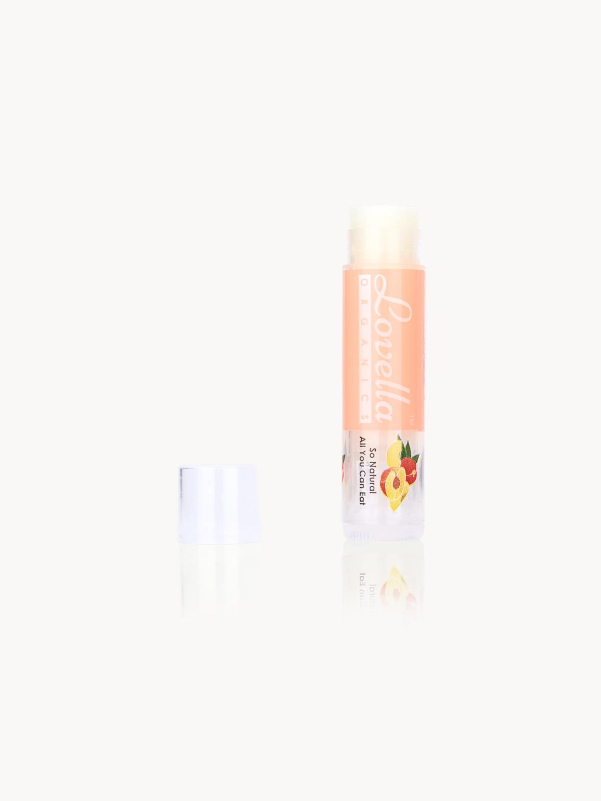 Lovella Organics Lip Treatment Peach Tart
