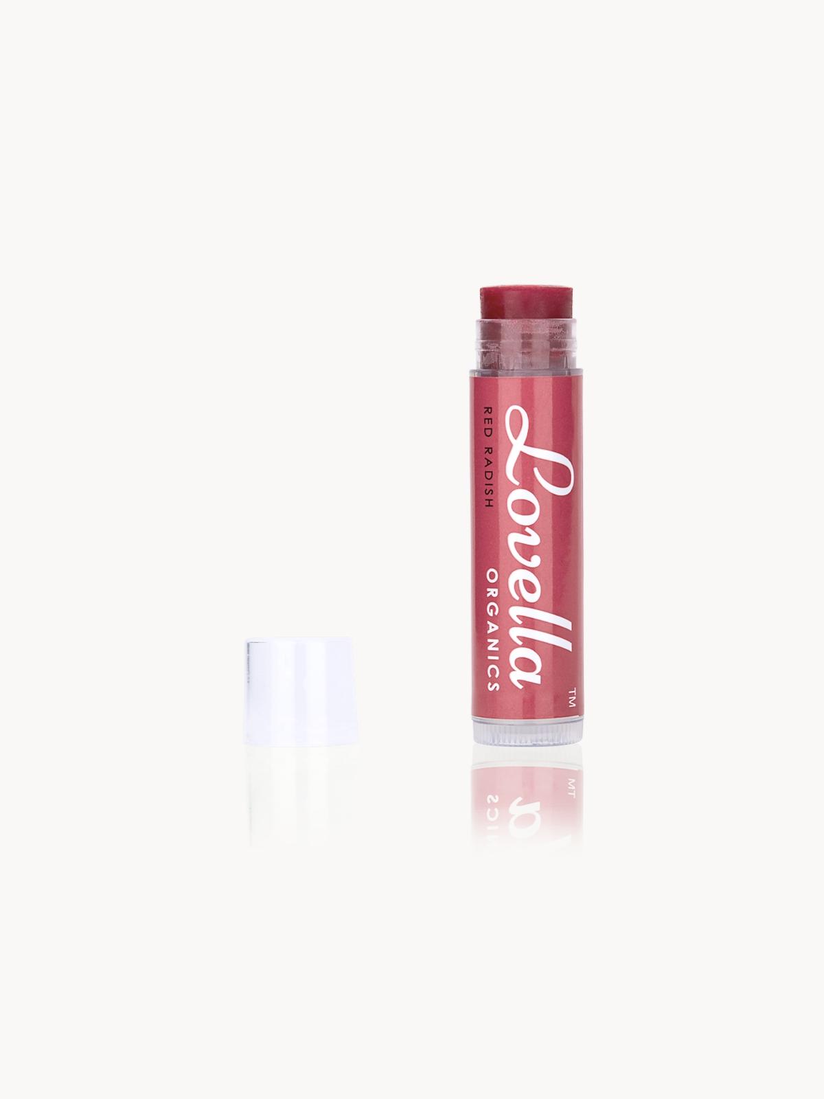 Lovella Organics Healthy Tinted Lip Balm Red Radish