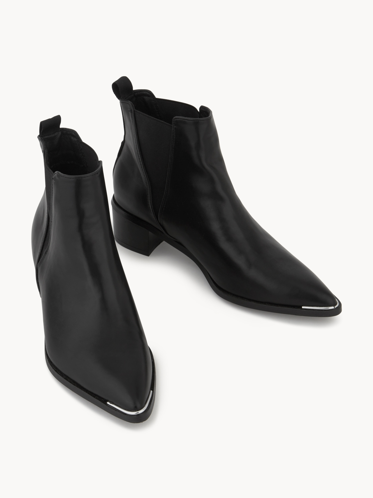 Starkela Relaxed Ankle Boots Black