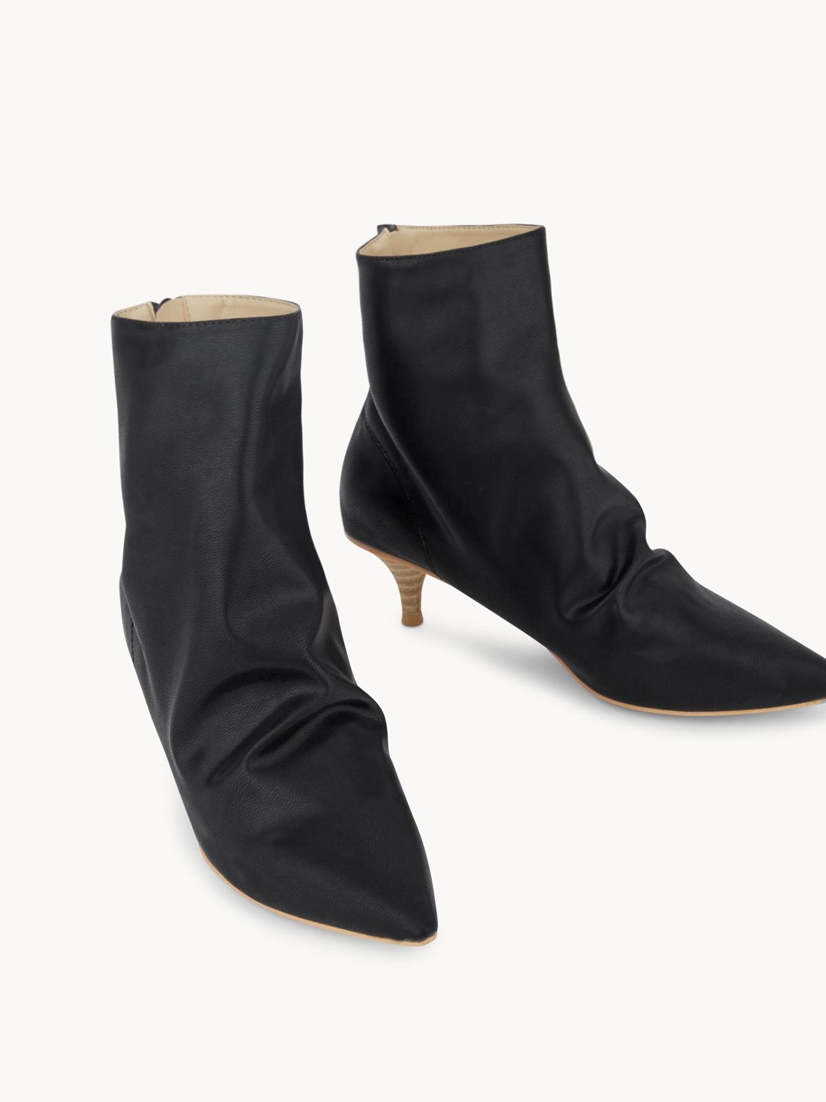 Starkela Western Knee High Boots Black
