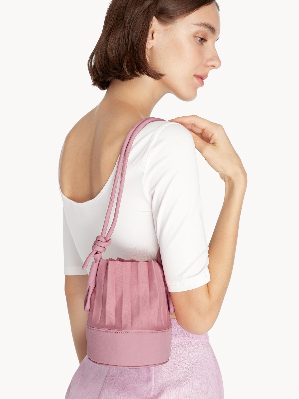 Apalepetal aPail Shot Crossbody Bag Pink