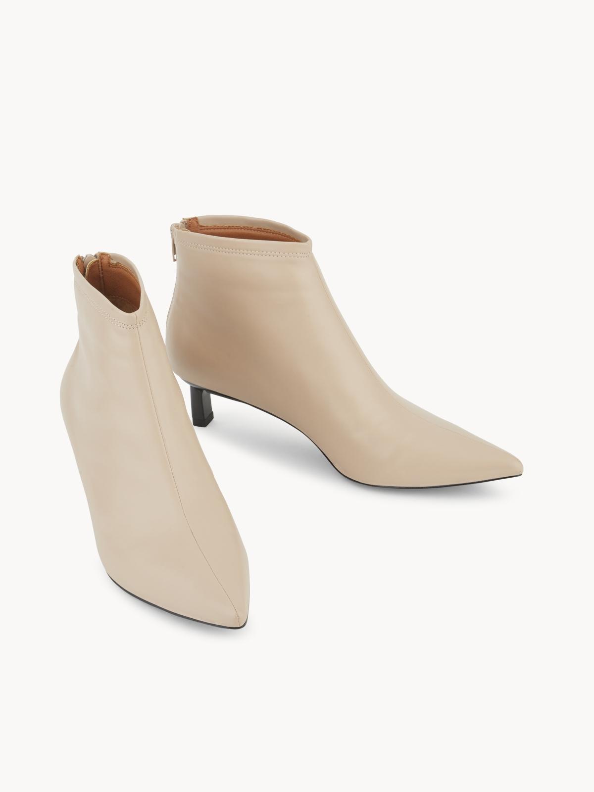 Starkela Heeled Ankle Boots Pink