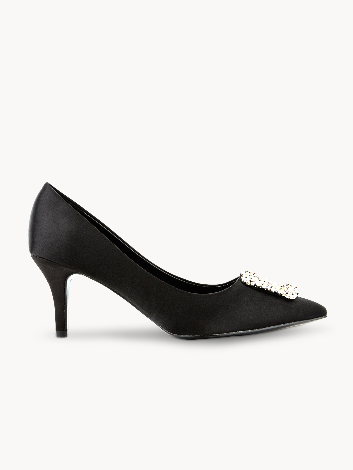 LookAtWe Amber High Heels Black