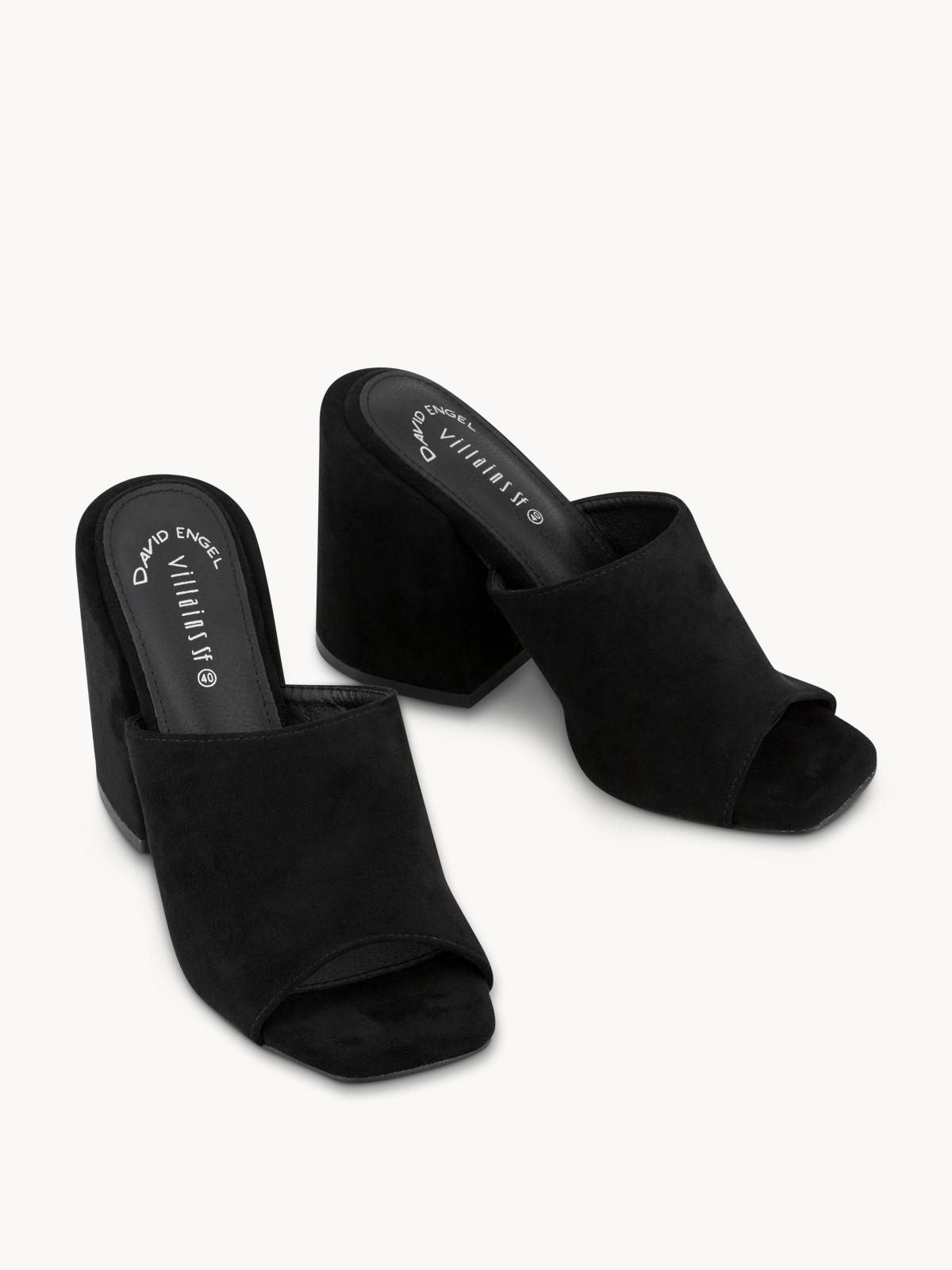 Villains SF Zahara Heels Black