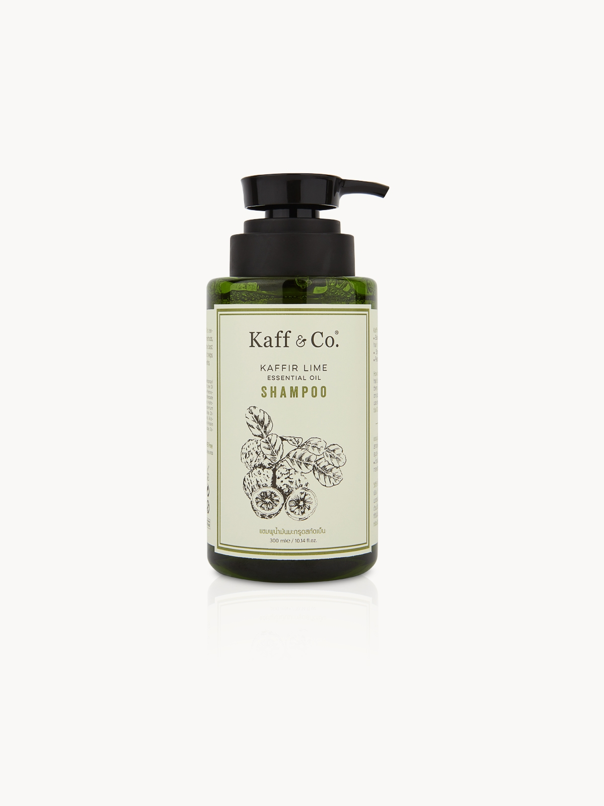 Kaff Co Kaffir Lime Essential Oil Shampoo 300 ml