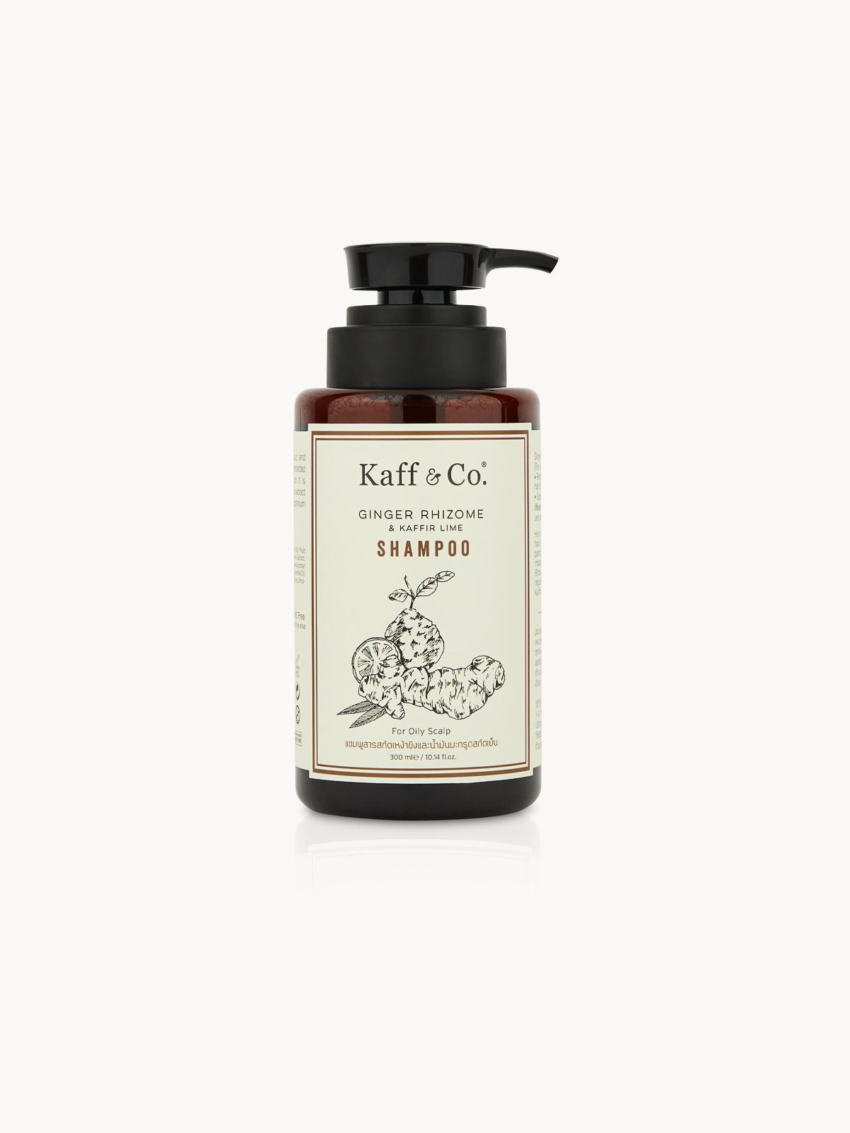 Kaff Co Ginger Rhizome Kaffir Lime Shampoo 300 ml