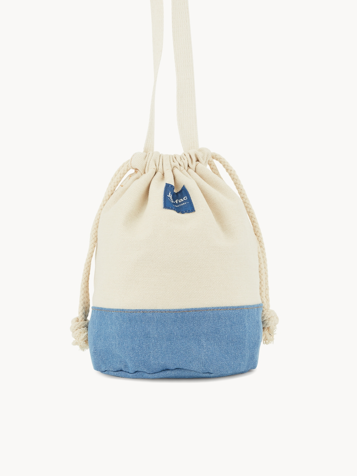 Japfac Two Tone Mini Bucket Blue