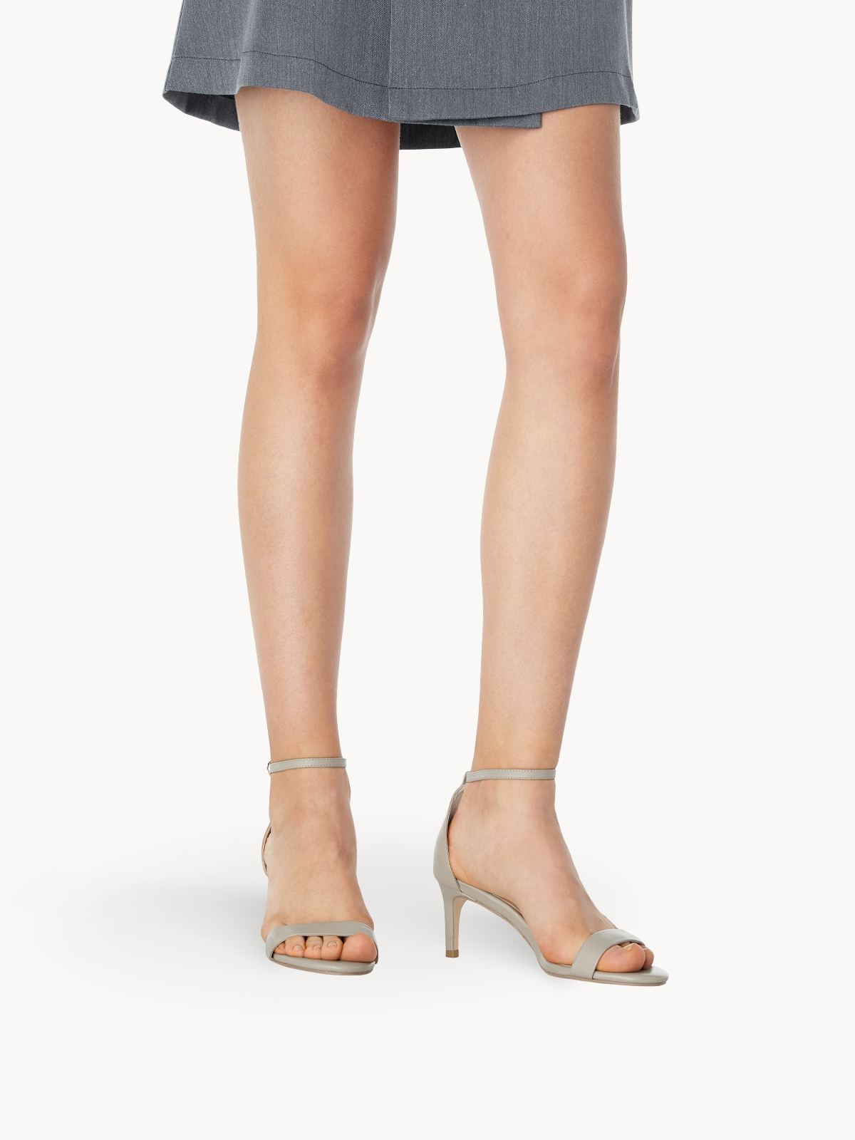 Mave Bliss Mid Heels Taupe